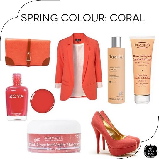 spring colour coral