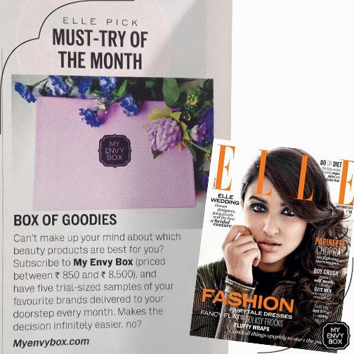 My Envy Box_ELLE magazine_Nov 2014