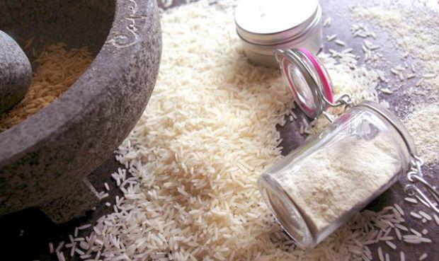 rice scrub