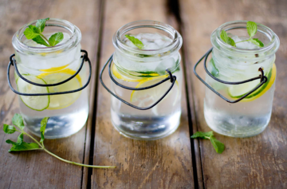 cucumber lemon mint