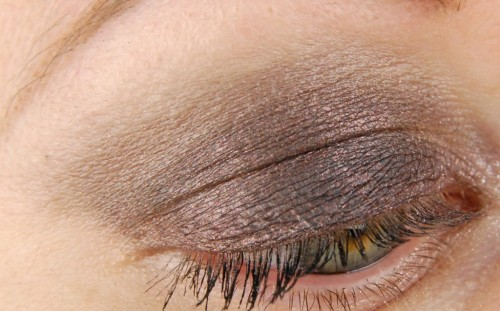 patchy eye shadow